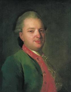 Портрет поэта В.И. Майкова (Рокотов Ф.С., конец 1760-х гг.)