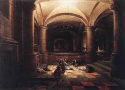 Освобождение святого Петра из темницы (Гендрик Стэнвейк-Младший)
