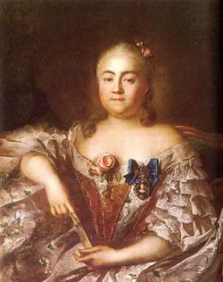 Портрет графини В.А. Шереметьевой (И.П. Аргунов, 1746)
