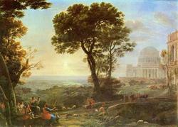 Храм Аполлона (Клод Лоррен)
