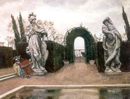 Венецианский сад. 1910 г.