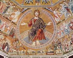 Мозаика в Баптистерии Сан Джованни во Флоренции