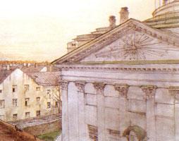 Церковь св. Екатерины в Санкт-Петербурге. 1899 г.