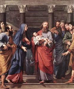 Св. Симеон Богоприимец (Филипп де Шампэнь)