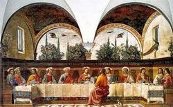 Тайная вечеря (Доменико Гирландайо)