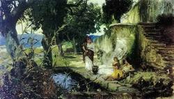 У фонтана (Г.И. Семирадский)