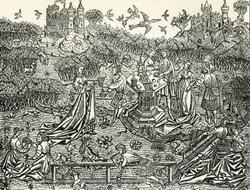 Сад любви (Мастер садов любви, сер. 15 века)