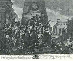 Помазание Соломона на царство (Жерар де Лэресс)
