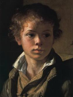Портрет сына художника (Тропинин В.Л., около 1818 г.)