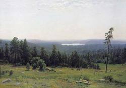Лесные дали (Шишкин И.И., 1884)