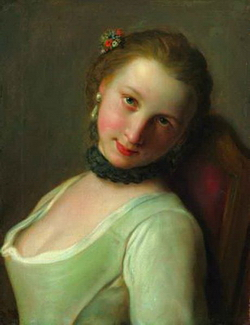 Молодая девушка (Пьетро Антонио Ротари)