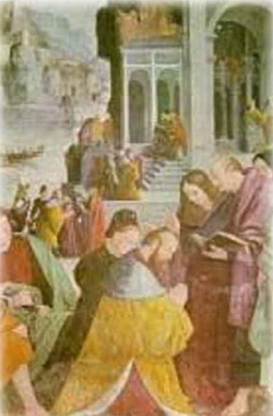 Встреча князя Марсельского с Магдалиной