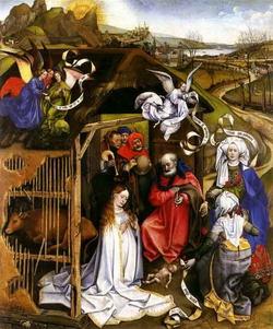 Рождество Христово (Мастер Флемальского алтаря)