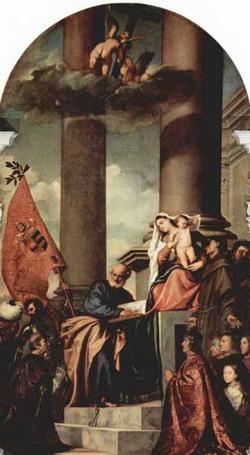 Мадонна семьи Пезаро (Тициан)