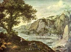 Пейзаж (Лукас Валькенборх)