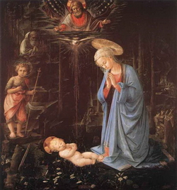 Поклонение младенцу Христу (Фра Филиппо Липпи)