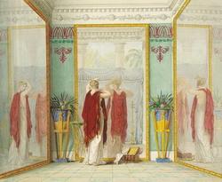 Душенька перед зеркалом (Толстой Ф., 1825 г.)