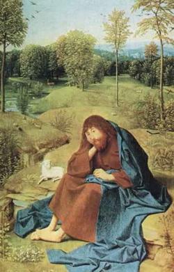 Св. Иоанн в пустыне (Гертхен ван Сант-Янс)