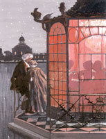 Китайский павильон. Ревнивец. 1906 г.