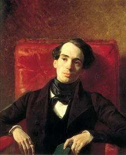 Портрет писателя А.Н. Струговщикова (К.П. Брюллов, 1840 г.)