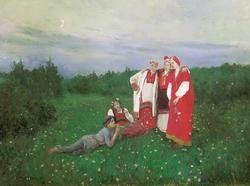 Северная идиллия (К.А. Коровин, 1886)