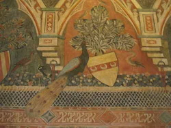 Декор зала в палаццо Дваванцетти во Флоренции