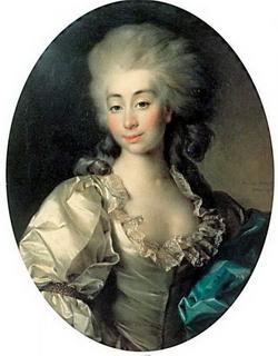 Портрет Урсулы Мнишек (Д.Г. Левицкий, 1782 г.)