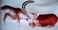 Пасущиеся олени (живопись каменного века)