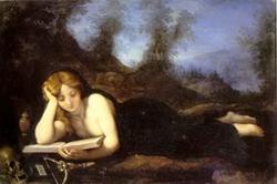 Читающая Магдалина (Кристофано Аллори)