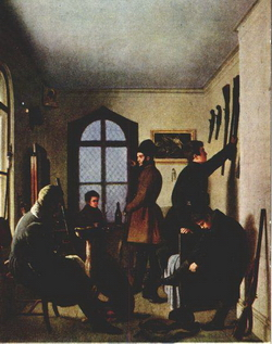 Сборы художников на охоту (Крендовский К.Я., 1836 г.)