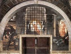 Освобождение святого Петра з темницы (Рафаэль)