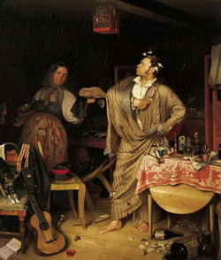 Свежий кавалер (Федотов П.А., 1846)