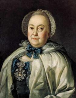 Портрет М.А. Румянцевой (Антропов А.П., 1764 г.)