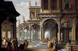 Архитектурное каприччио (Дирк ван Делен)