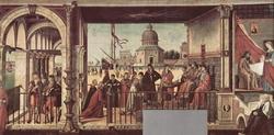 Прибытие послов английского короля к отцу святой Урсулы (Карпаччио)