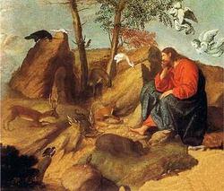 Христос в пустыне (Моретто)
