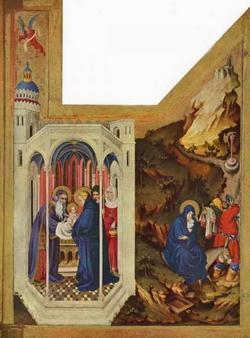 Сретение Господне и Бегство в Египет (М. Брёдерлам)