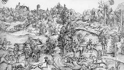 Охота на оленя (Лукас Кранах-Старший)