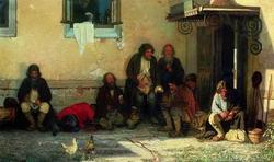 Земство обедает (Мясоедов Г.Г., 1872)