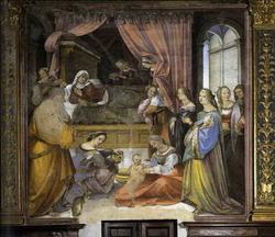Рождение Вирджинии (Джилорамо дель Паккия)