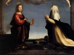 Эскиз святой Марии Магдалины и святой Екатерины (Фра Бартоломео, 1509 г.)