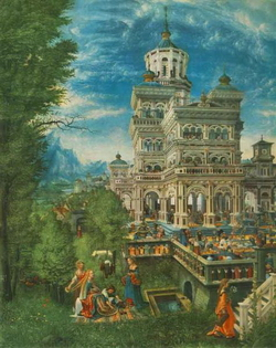 Вирсавия (Альбрехт Альтдорфер, 1526 г.)