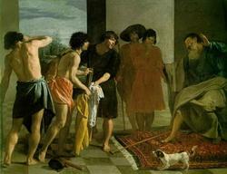 Братья Иосифа приносят его одежду отцу (Веласкес)