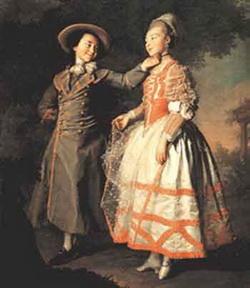 Портрет Е.Н. Хрощовой и Е.Н. Хованской