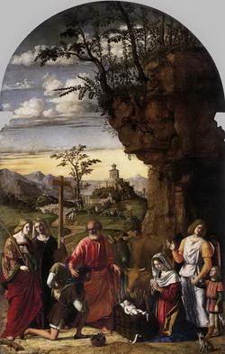 Поклонение пастырей (Чима Конелиано)
