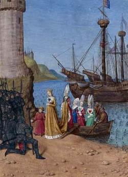 Возвращение в Англию Изабеллы, супруги Эдуарда II