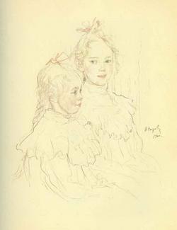 Дети Боткины (В.А. Серов, 1900)