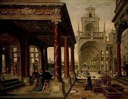 Дворец с садом (Вредеман де Врис)
