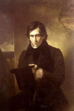 Портрет писателя Н.В. Кукольника (К.П. Брюллов)