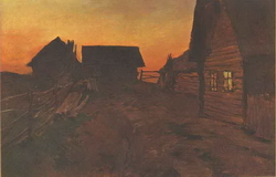 Деревня (И.И. Левитан)
